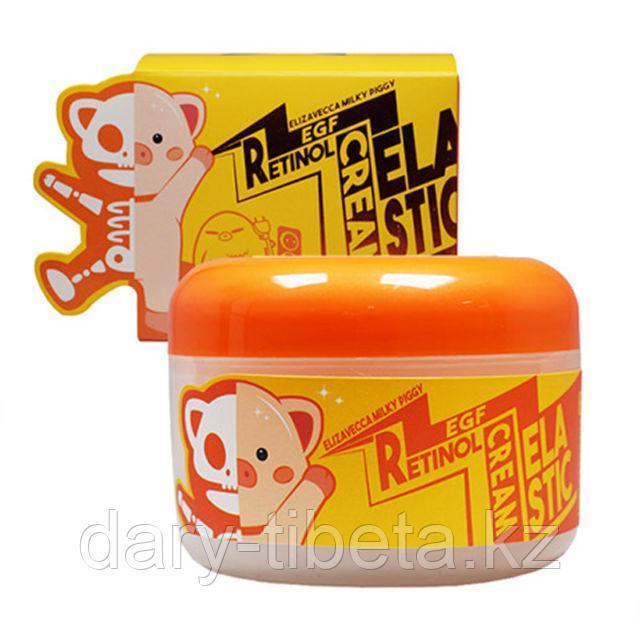 Elizavecca Milky Piggy EGF Retinol Cream-Крем для лица со свиным коллагеном