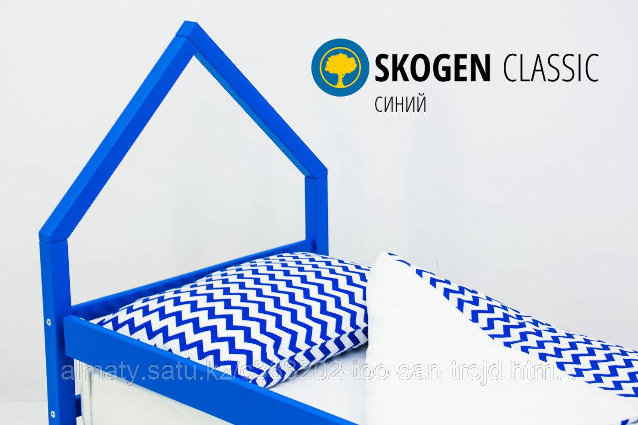 """Изголовье-крыша для кровати """"Skogen classic синий"""""""