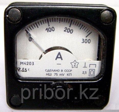 М4203 Щитовой Амперметр, миллиамперметр постоянного тока