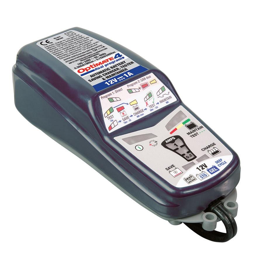 Зарядное устройство ™OptiMate 4 Dual Program TM340 (1x1A, 12V)