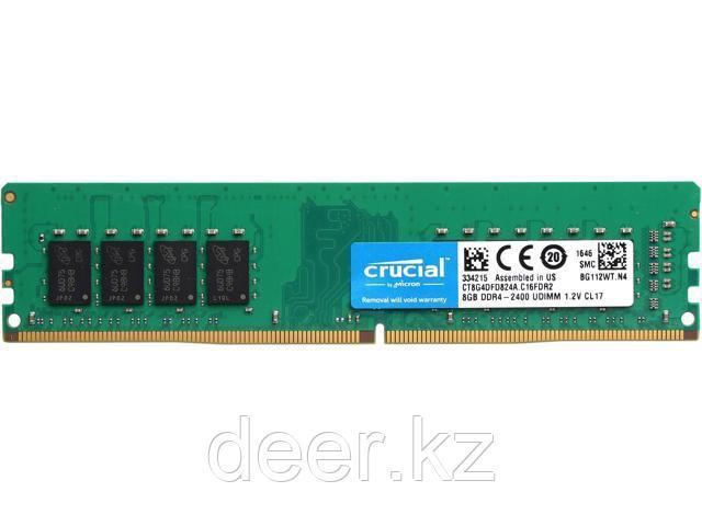 Оперативная память Crucial DDR4 8GB 2400Mhz CT8G4DFD824A