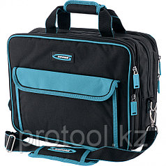 Сумка для инструмента Meister, 31 карман, отсек для ноутбука, наплечный ремень,400*170*300мм// GROSS