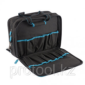 Сумка для инструмента Meister, 31 карман, отсек для ноутбука, наплечный ремень,400*170*300мм// GROSS, фото 2