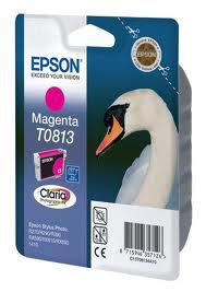Картридж Epson C13T11134A10 (0813) R270/290/RX590_HIGH пурпурный, фото 2