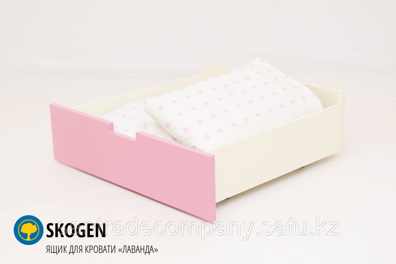 "Ящик для кровати Бельмарко""Skogen лаванда"""