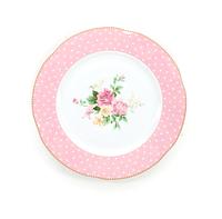 Блюдо 21 см (розовое)