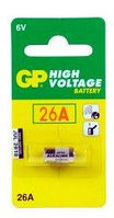 Батарейки GP High-voltage 26A 6V