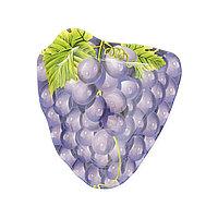 Блюдо из стекла в виде винограда.