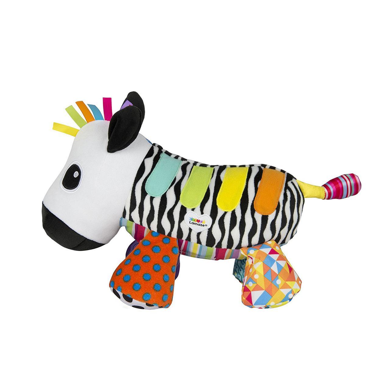 Lamaze Мягкая игрушка - Музыкальная Зебра (на бат., звук)