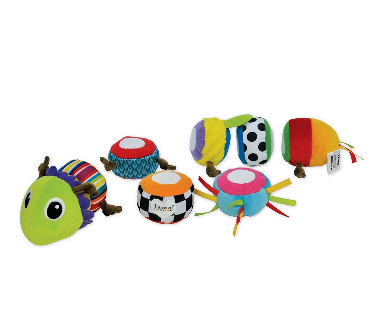 """Lamaze Мягкая игрушка """"Меняй и собирай"""" - Гусеница"""
