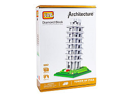 """Конструктор Loz Architecture """"Пизанская башня"""", 560 деталей"""