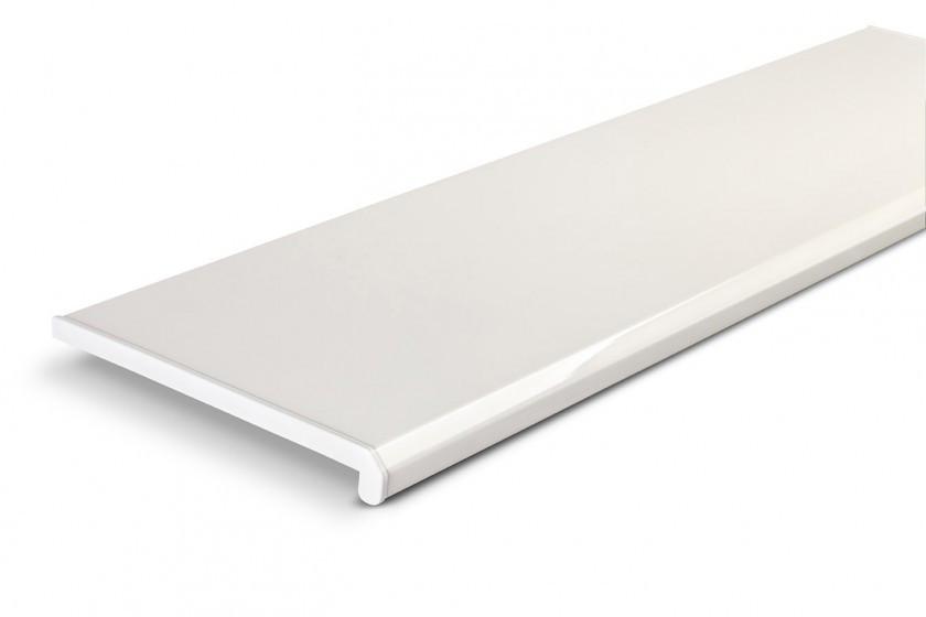 Пластиковый Подоконник Danke Komfort Белый 70см, с двумя капиносами