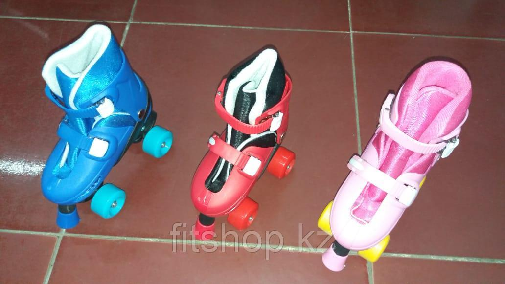 Детские роликовые коньки -квады