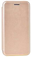 Кожаный чехол Open series для Samsung Galaxy S8 G950F (золотистый), фото 1