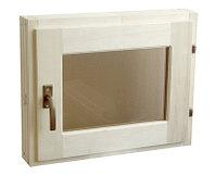 Окно для бани бронза (50*60)