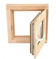 Окно для бани бронза 40*50
