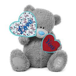 """Мягкая игрушка """"Me to You"""" Мишка Тедди с сердечками, 61 см"""