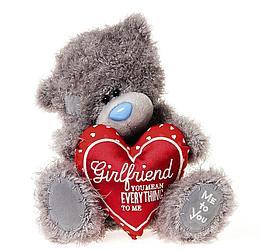 """Мягкая игрушка """"Me to You"""" Мишка Тедди с мягким сердцем, 25 см"""