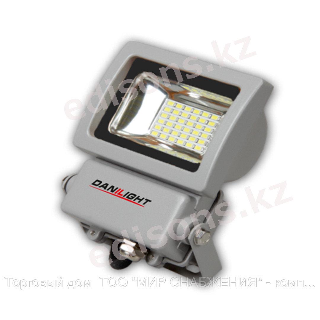DPL-E019ES IP65 180-240V 30W ,6500k Прожектор светодиодный с датчиком движения