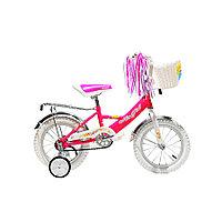 Двухколесный велосипед Mars (темно-розовый)
