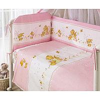 Комплект в кроватку Perina Фея лето 4 предмета розовый