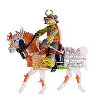 Черепашки-ниндзя Всадник Самурай Майки на коне