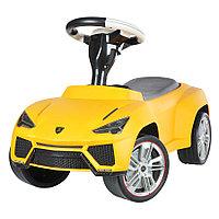 Детская машина каталка Rastar Lamborghini Urus желтая Yellow
