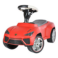 Детская машина каталка Rastar Lamborghini Urus красная Red