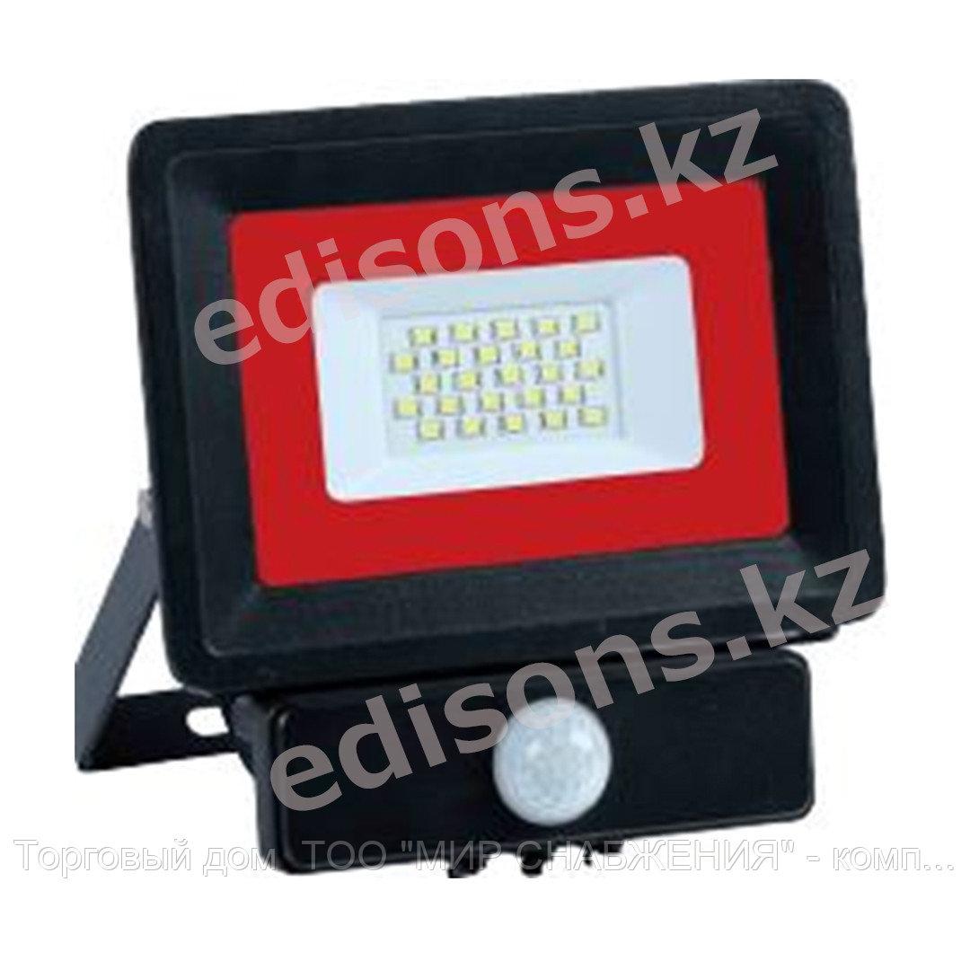 DPL-E022ES IP65 180-240V 30W 6500k Прожектор светодиодный с датчиком движения