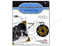 Уголки для фотографий Creative Photo Corners - Gold - Scrapbook Adhesives