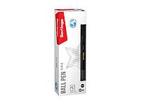 """Ручка шариковая Berlingo """"xGold"""" черная, 0,7мм, игольчатый стержень, грип, фото 6"""