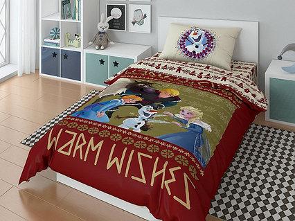 """Комплект постельного белья, Disney  """"Олаф"""""""
