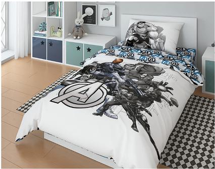 """Комплект постельного белья, Marvel """"Халк"""""""
