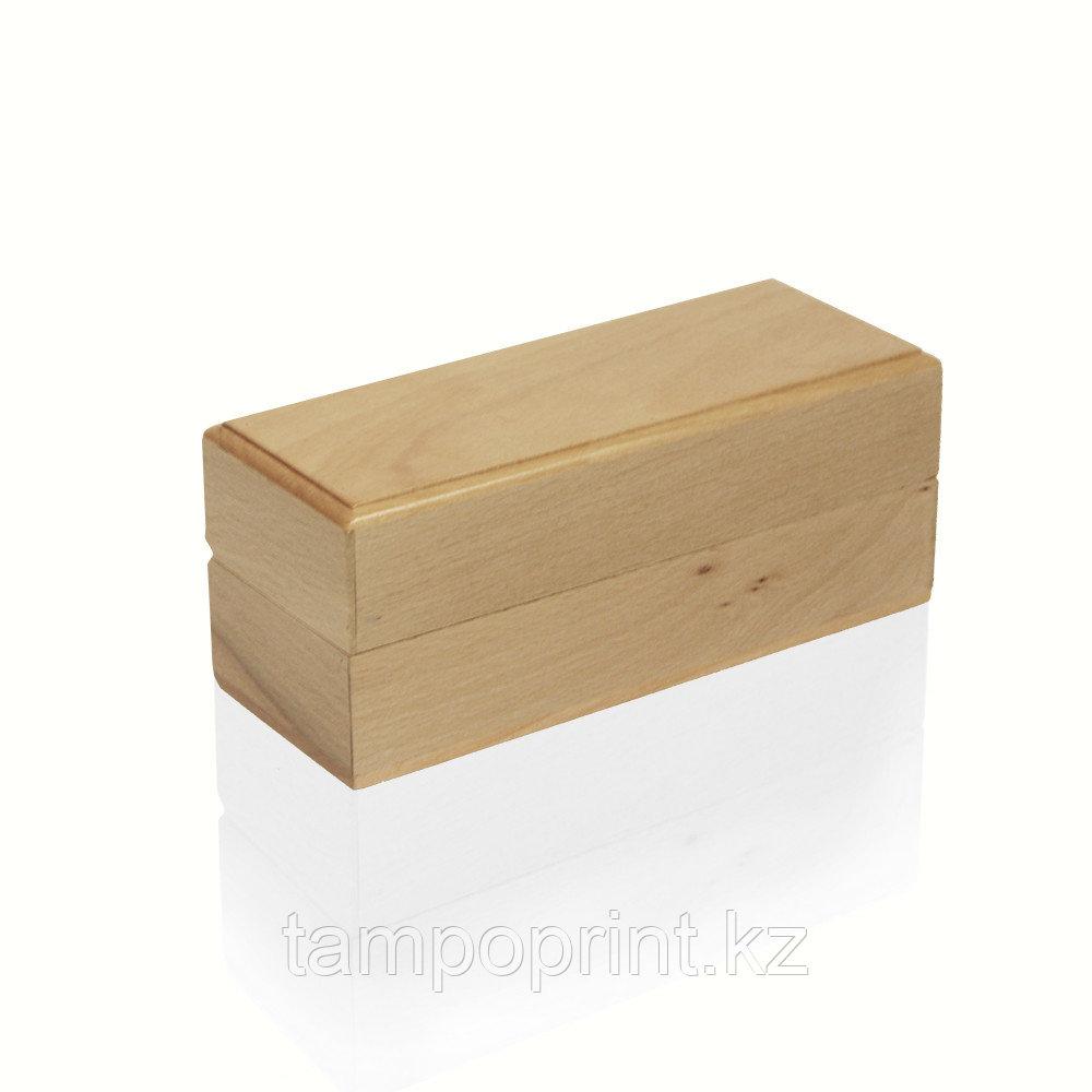 U-PK084 Деревянная упаковка бук натуральный