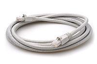 ITK Коммутационный шнур (патч-корд), кат.6 UTP, LSZH, 0,5м, серый, фото 1