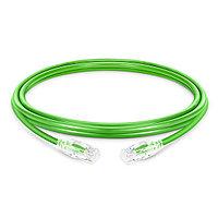 ITK Коммутационный шнур (патч-корд), кат.6 UTP, LSZH, 2м, зел., фото 1