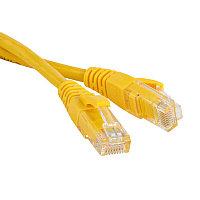 ITK Коммутационный шнур (патч-корд), кат.5Е UTP, 5м, желтый, фото 1