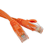 ITK Коммутационный шнур (патч-корд), кат.5Е FTP, 3м, оранжевый, фото 1