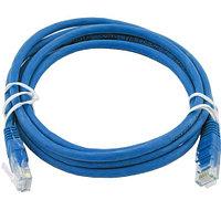ITK Коммутационный шнур (патч-корд), кат.5Е FTP, 2м, синий, фото 1