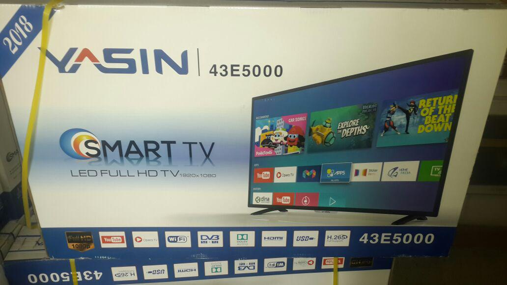 Телевизор  YASIN LED-43E5000 SMART, WI-FI,