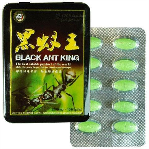 Мужской возбудитель Black Ant King (Король черных муравьев - 10 таб.)