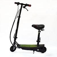 Электросамокат с сиденьем и надувным передним колесом EL-Sport Charger, фото 1