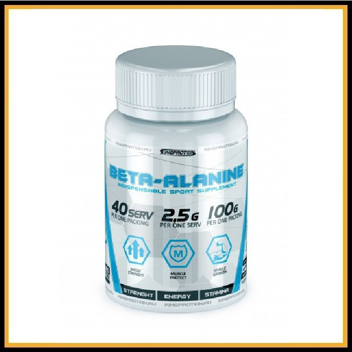 King Protein Beta Alanine 100 gr (без вкуса)