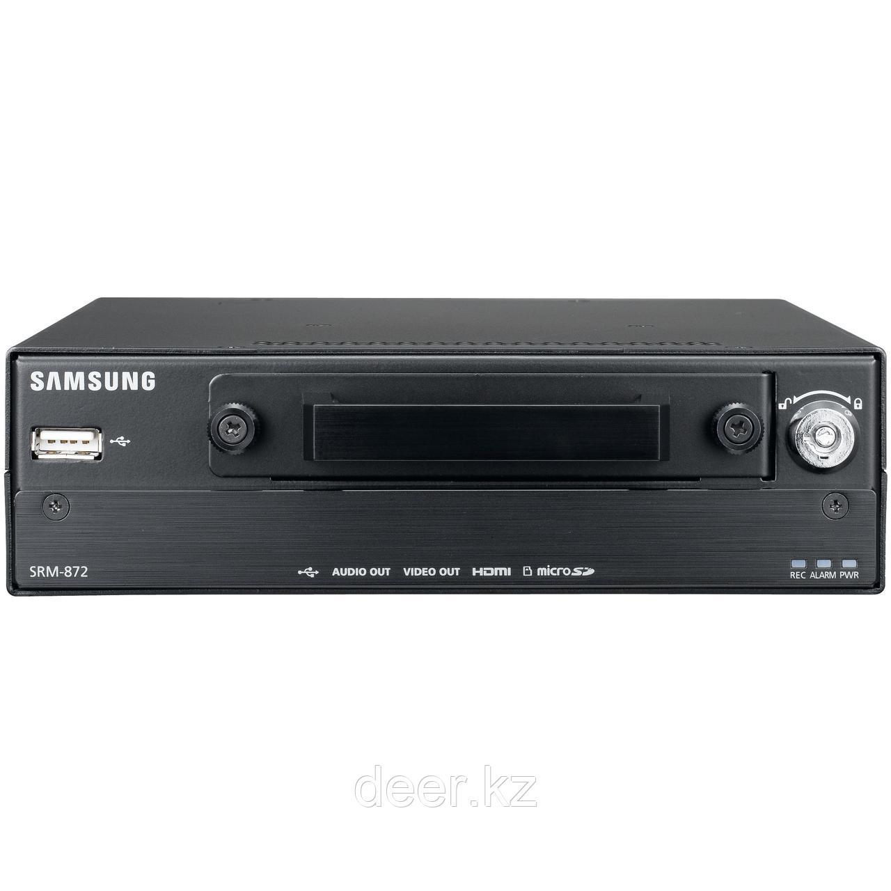 8-канальный сетевой видеорекордер Samsung SRM-872P с PoE