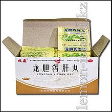"""Пилюли для лечения печени """"Драконья желчь"""" (Longdan Xiegan Wan)."""