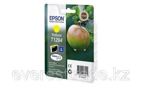 Картридж Epson C13T12944012 I/C для SX420W/BX305F желтый new, фото 2