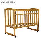 Детская кровать «MAGICO»,колесо+качалка(орех,береза), фото 2