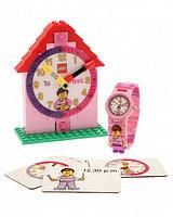 Обучающий набор часов LEGO Time Teacher для девочек