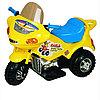 Мини электромотоцикл (жёлтый)