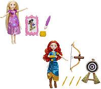 Disney Princess Модная кукла принцесса и ее хобби, в ассорт.